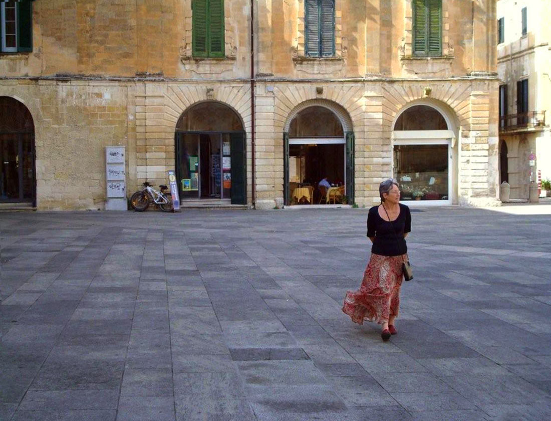 Photo of Cynthia Voigt in Italy